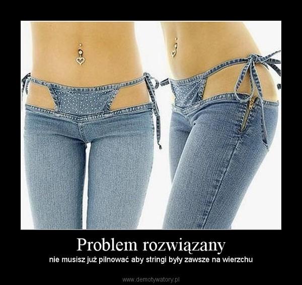 Problem rozwiązany – nie musisz już pilnować aby stringi były zawsze na wierzchu