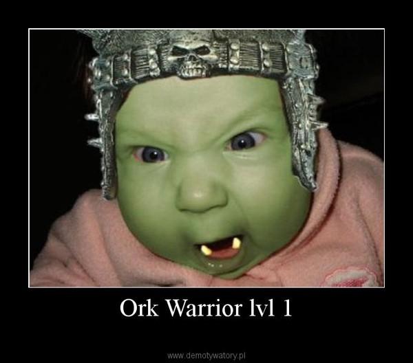 Ork Warrior lvl 1 –