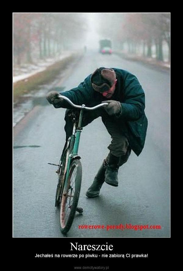 Nareszcie – Jechałeś na rowerze po piwku - nie zabiorą Ci prawka!