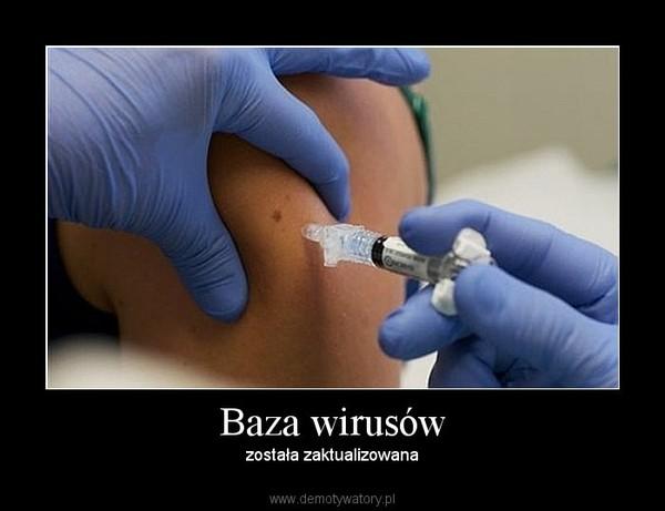 Baza wirusów – została zaktualizowana