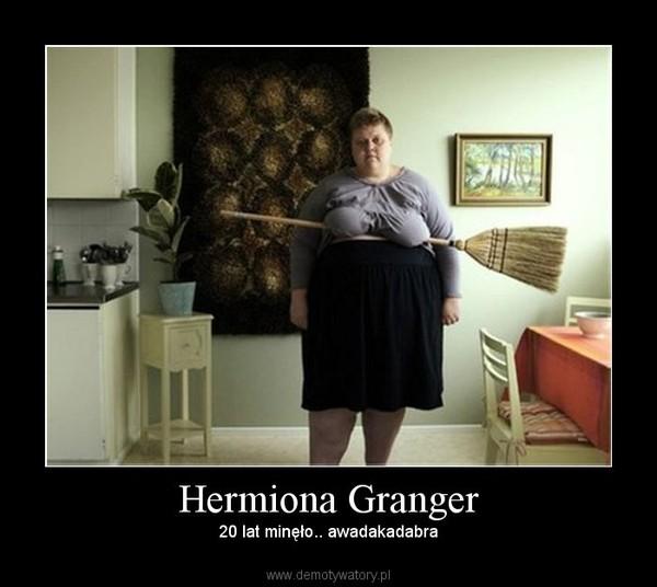 Hermiona Granger – 20 lat minęło.. awadakadabra