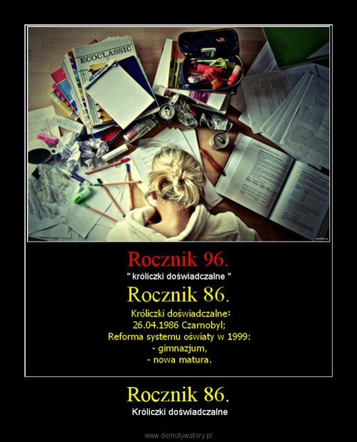 Rocznik 86.