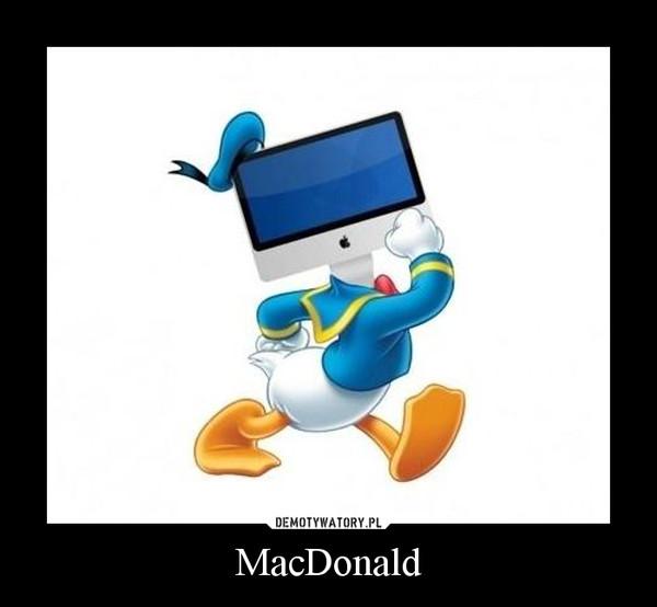 MacDonald –