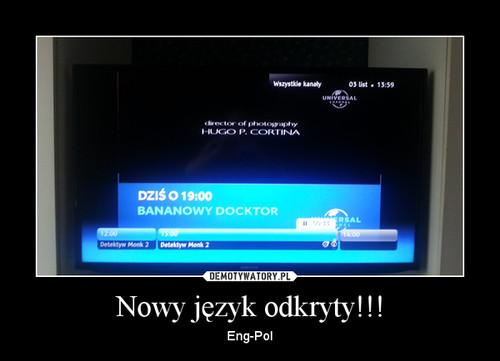 Nowy język odkryty!!!