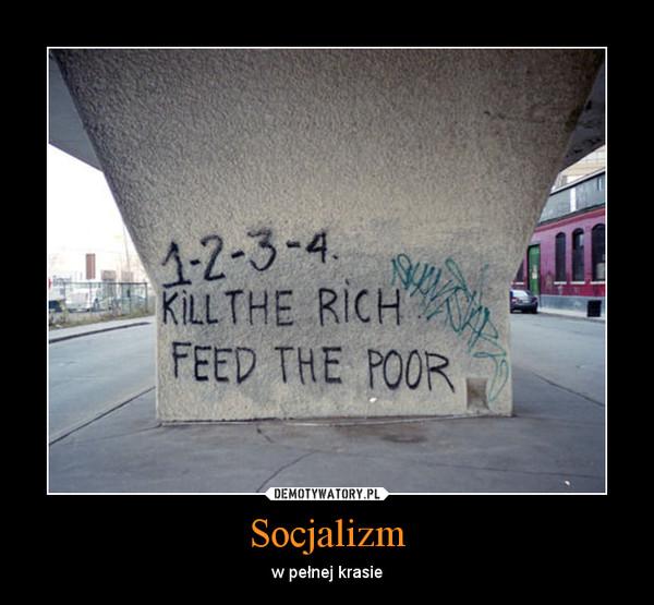 Socjalizm – w pełnej krasie