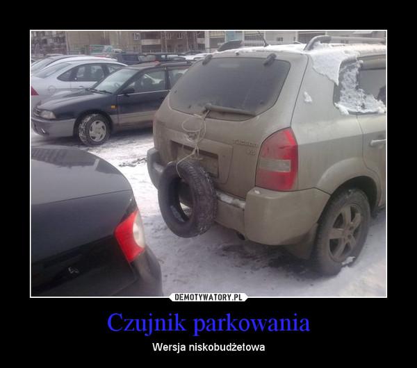 Czujnik parkowania – Wersja niskobudżetowa