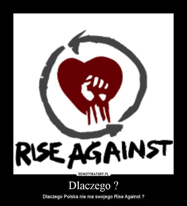 Dlaczego ? – Dlaczego Polska nie ma swojego Rise Against ?
