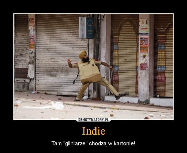 """Indie – Tam """"gliniarze"""" chodzą w kartonie!"""