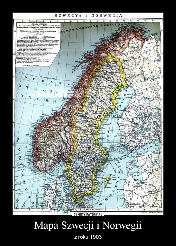 Mapa Szwecji I Norwegii Demotywatory Pl