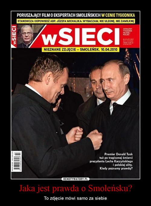 Jaka jest prawda o Smoleńsku?