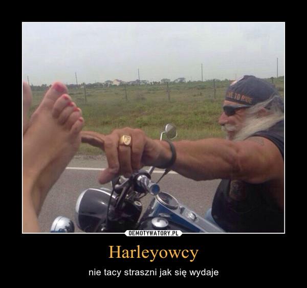 Harleyowcy – nie tacy straszni jak się wydaje