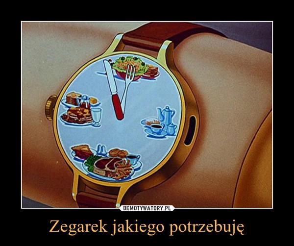Zegarek jakiego potrzebuję –