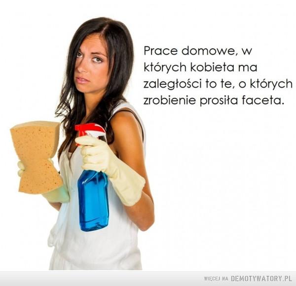 Prace domowe –