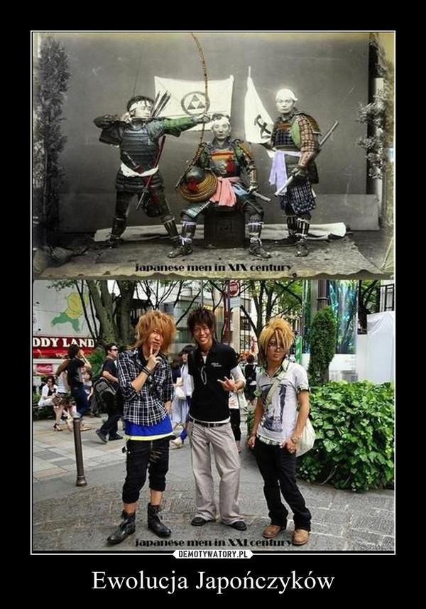 Ewolucja Japończyków –