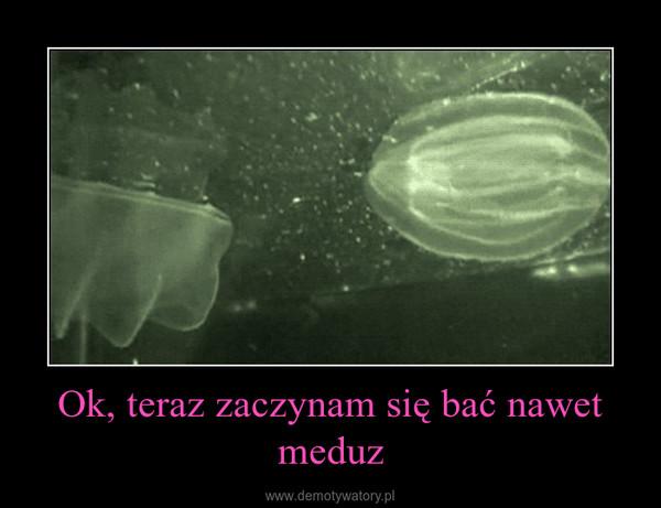 Ok, teraz zaczynam się bać nawet meduz –