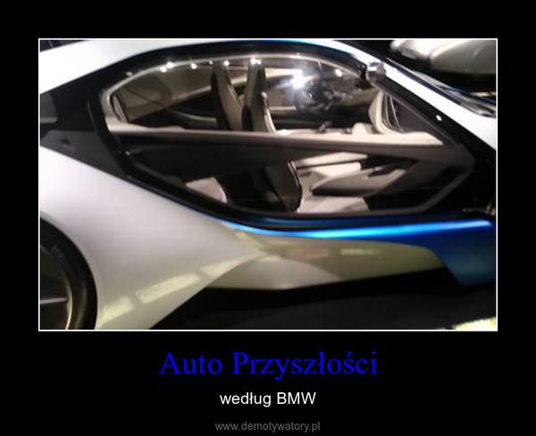 Auto Przyszłości – według BMW