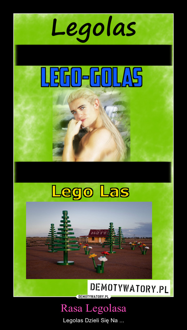 Rasa Legolasa – Legolas Dzieli Się Na ...