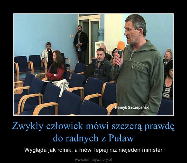 Zwykły człowiek mówi szczerą prawdę do radnych z Puław – Wygląda jak rolnik, a mówi lepiej niż niejeden minister