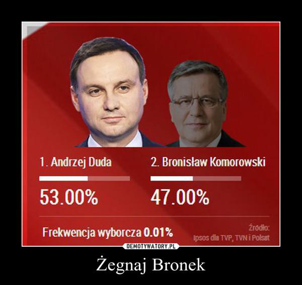 Żegnaj Bronek –