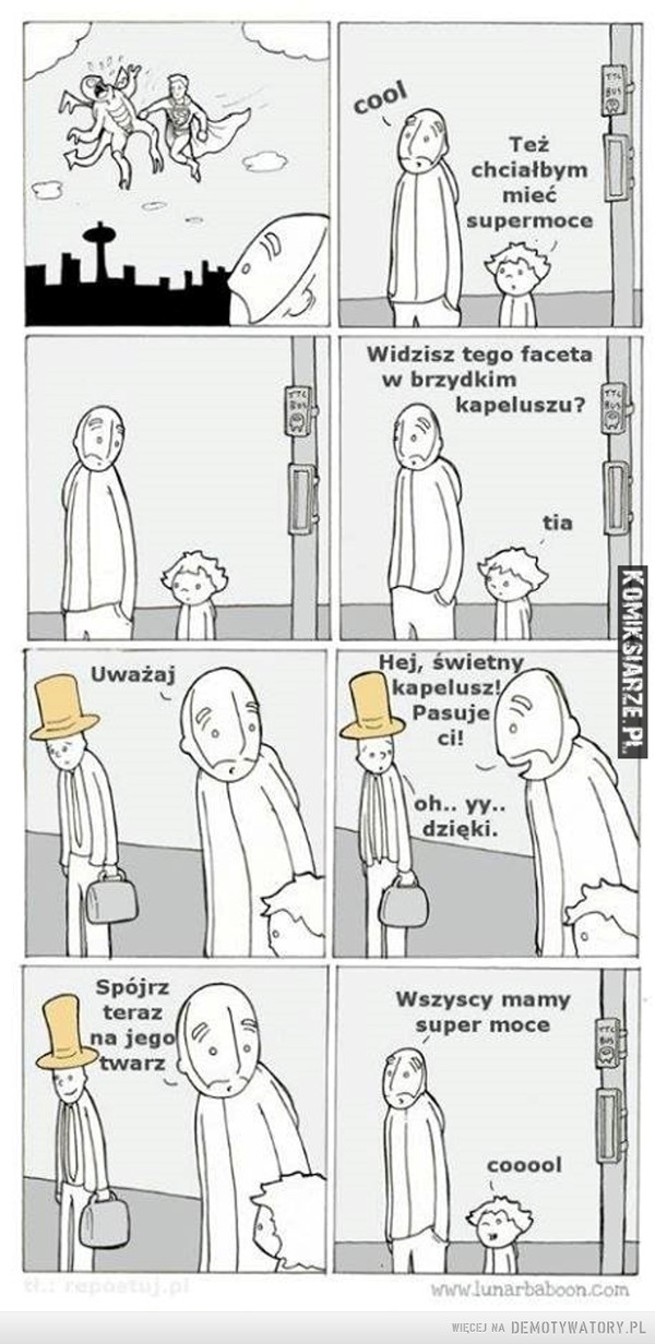 Użyj swojej supermocy –