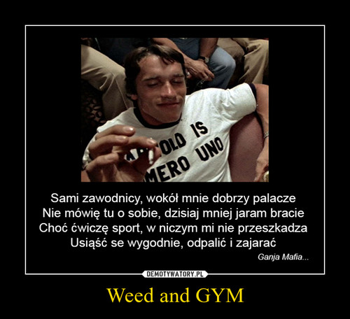 Weed and GYM