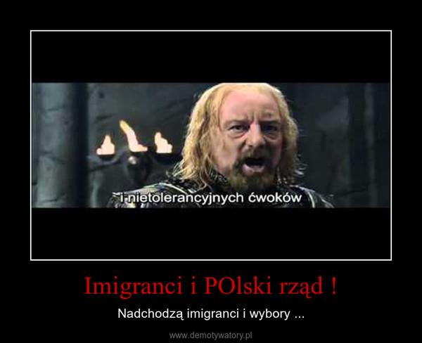 Imigranci i POlski rząd ! – Nadchodzą imigranci i wybory ...