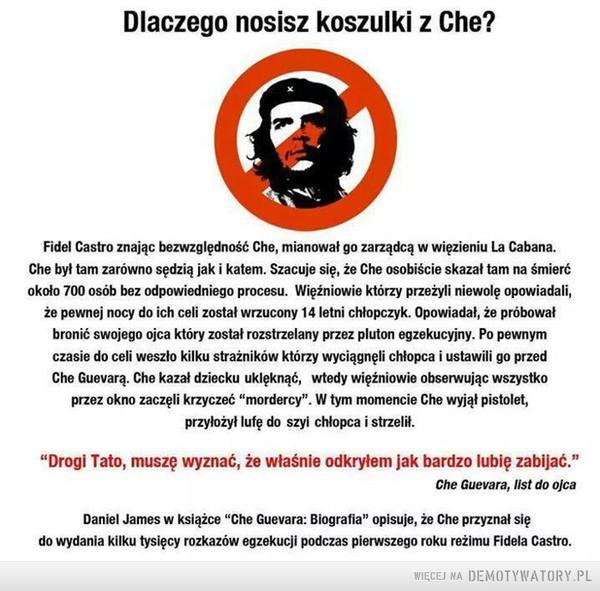 Koszulki Che Guevara –