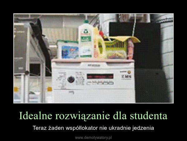 Idealne rozwiązanie dla studenta – Teraz żaden współlokator nie ukradnie jedzenia