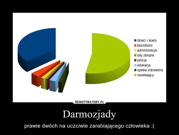 Darmozjady – prawie dwóch na uczciwie zarabiającego człowieka :(