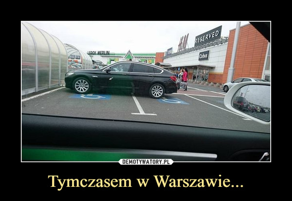 Tymczasem w Warszawie... –