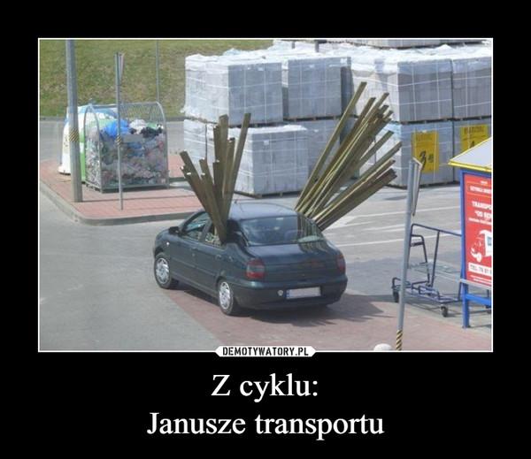 Z cyklu:Janusze transportu –