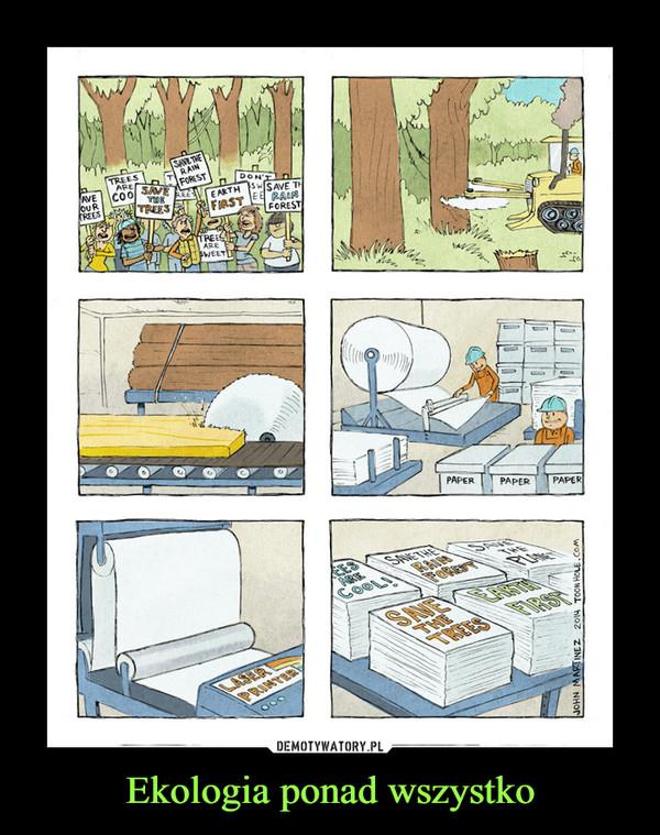 Ekologia ponad wszystko –