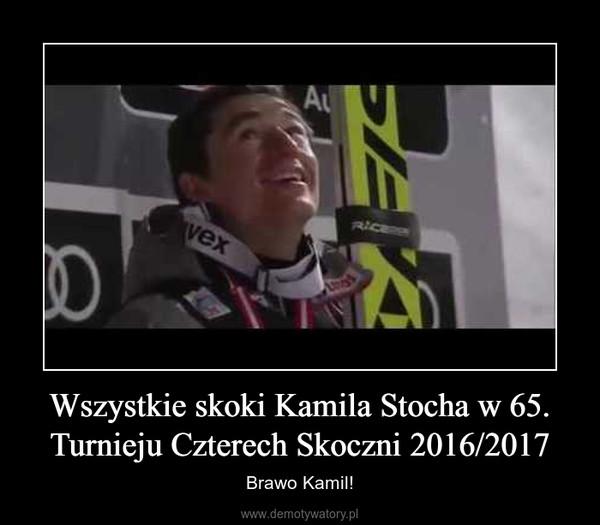 Wszystkie skoki Kamila Stocha w 65. Turnieju Czterech Skoczni 2016/2017 – Brawo Kamil!