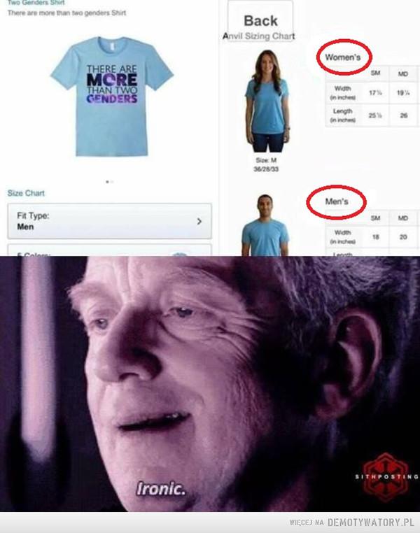 To dopiero ironia –
