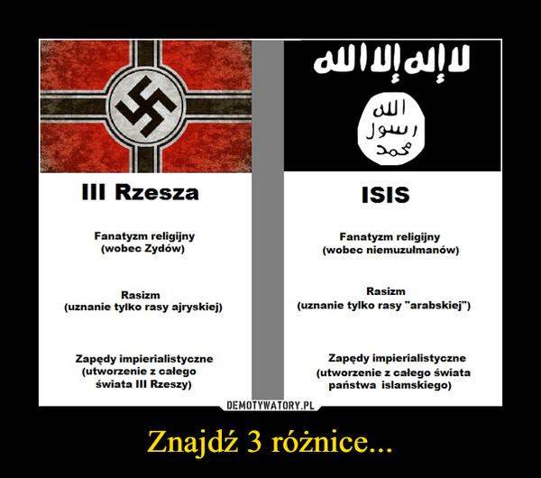 Znajdź 3 różnice... –