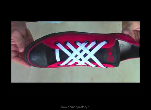 5 ciekawych sposobów wiązania sznurowadeł –