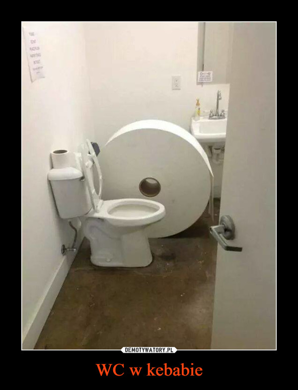 WC w kebabie –