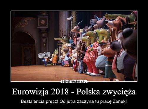 Eurowizja 2018 - Polska zwycięża