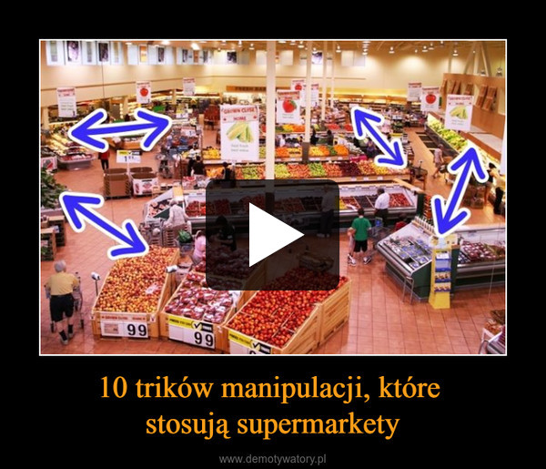 10 trików manipulacji, które stosują supermarkety –