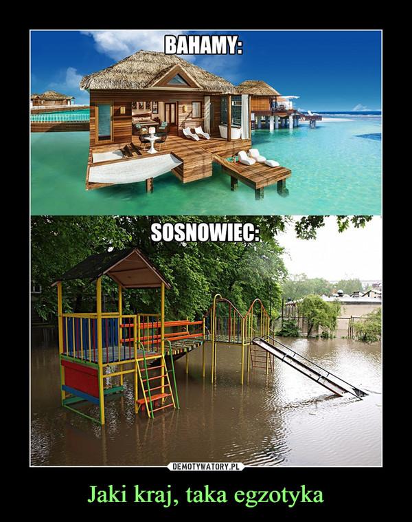 Jaki kraj, taka egzotyka –  BahamySosnowiec