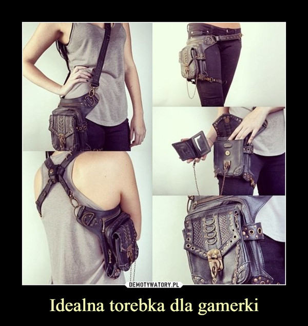 Idealna torebka dla gamerki –