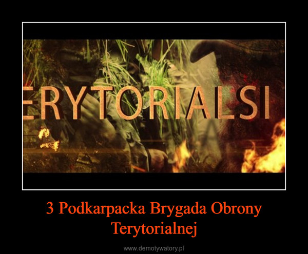 3 Podkarpacka Brygada Obrony Terytorialnej –