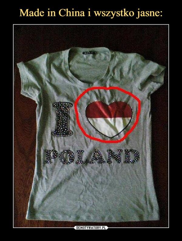–  I love Poland