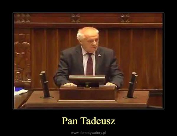 Pan Tadeusz –