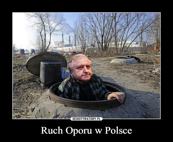 Ruch Oporu w Polsce –