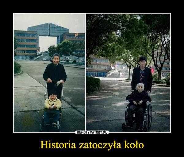 Historia zatoczyła koło –