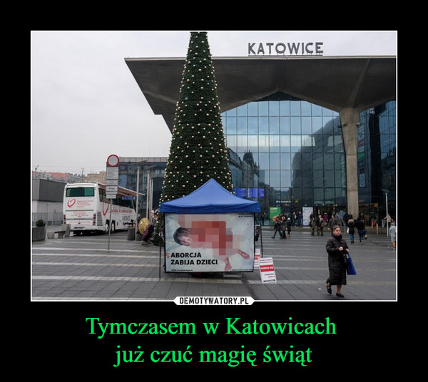 Tymczasem w Katowicach już czuć magię świąt –