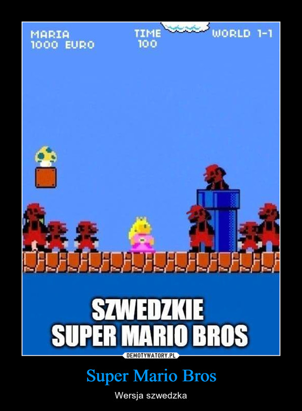 Super Mario Bros – Wersja szwedzka