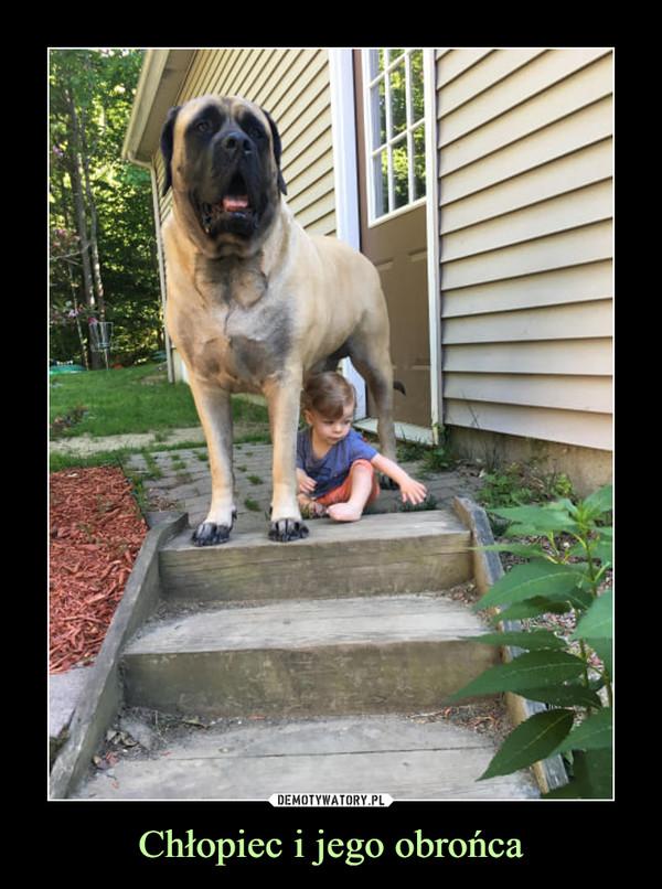 Chłopiec i jego obrońca –