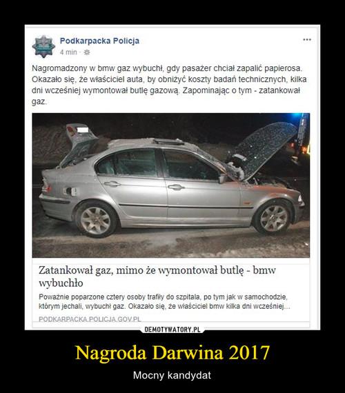 Nagroda Darwina 2017